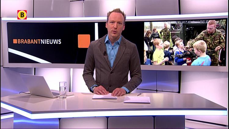 Militairen van de Landmacht verrassen voetballertjes N.E.O. Waalwijk