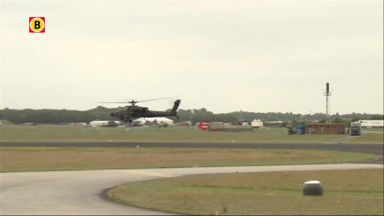 Volop geoefend voor de Luchtmachtdagen op vliegbasis Gilze-Rijen