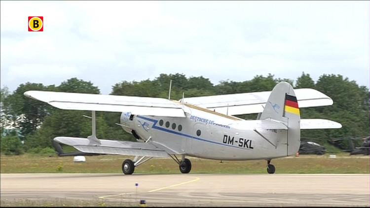 Antonov An-2 op Luchtmachtdagen Gilze-Rijen 2014