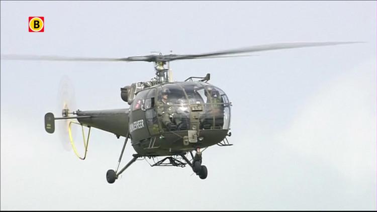 Austrian 50 Alouette III demo Luchtmachtdagen 2014 Gilze-Rijen