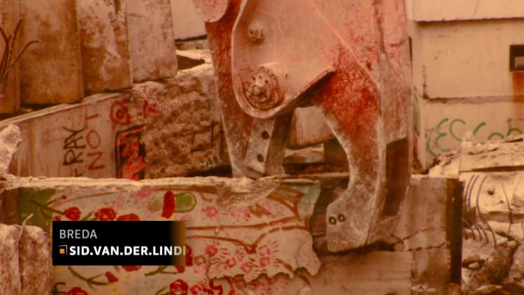 Bredaas bedrijf hielp mee met slopen Berlijnse Muur