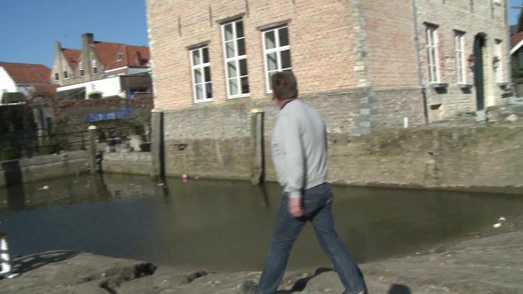 Hans Smeenk wil snel een waterrad voor de getijden watermolen in Bergen op Zoom