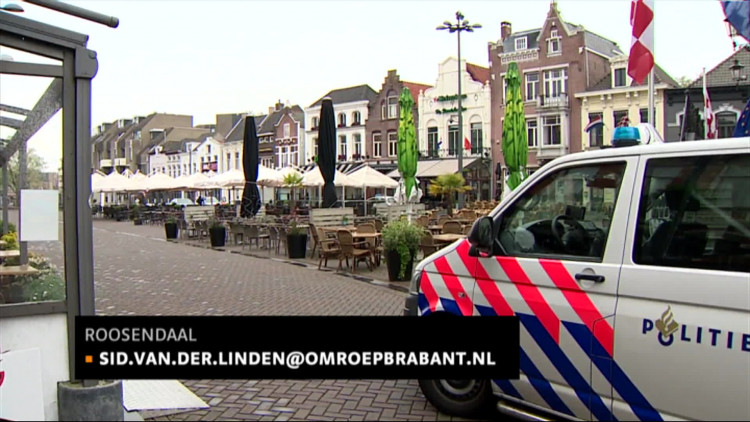 Gewapende man (39) overmeesterd in café Chagall in ... Chagall Roosendaal