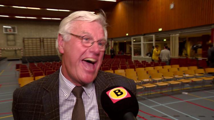 Burgemeester Vos spreekt van een heftige avond