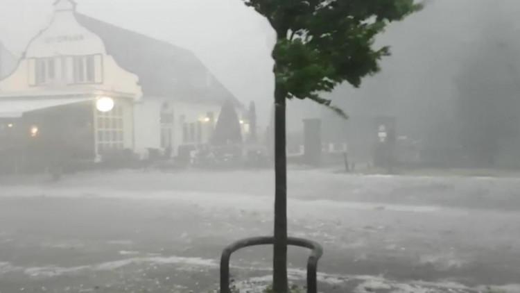 Noodweer in Brabant