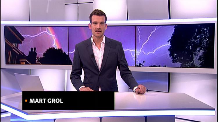 Noodweer Zuidoost-Brabant: enorme hagelstenen, wateroverlast, en kapotte kassen