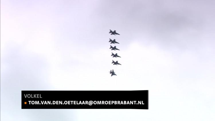 F16's vliegbasis Volkel terug uit Irak en Syrië