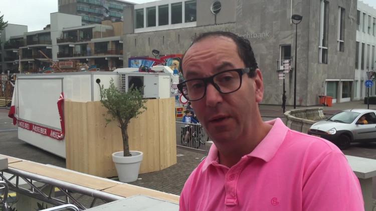 Jeroen Rosenberg van de bierhal: 'Rugzakken komen er niet in'