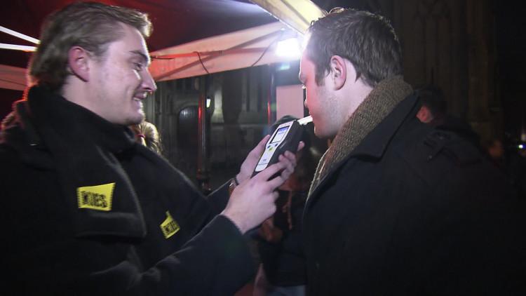 Blaastest tegen uitgaansgeweld in Den Bosch
