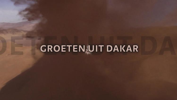 Jan Willem van Brakel en Paul van der Vleuten doen de Groeten uit Dakar