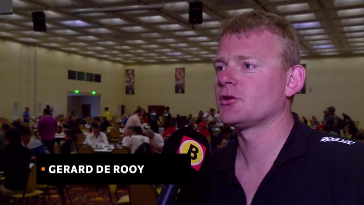 Gerard de Rooy: 'Leuk dat ik nu echt voor de eindzege moet vechten'