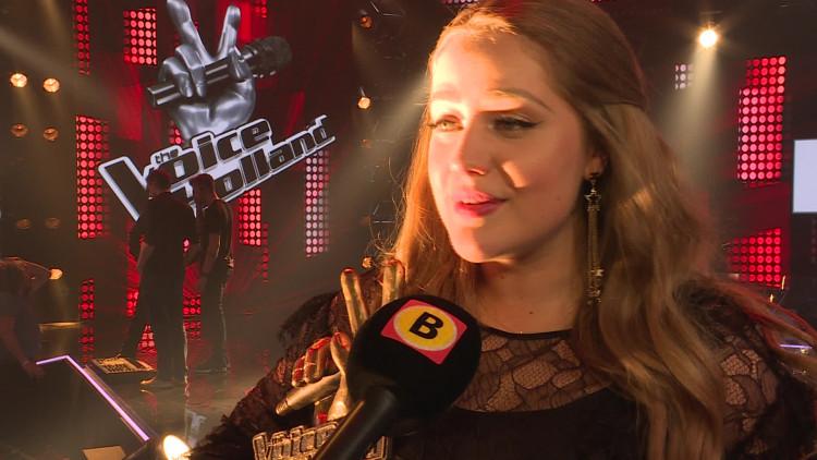 Interview met Pleun Bierbooms en Waylon na de finale van The Voice