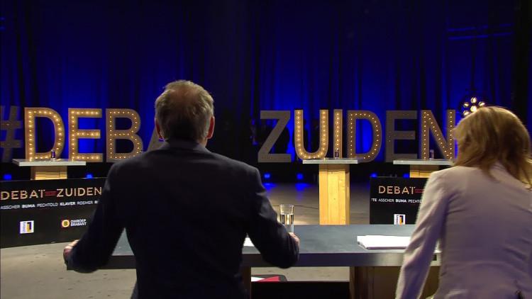 Het Debat van het Zuiden in het Klokgebouw in Eindhoven