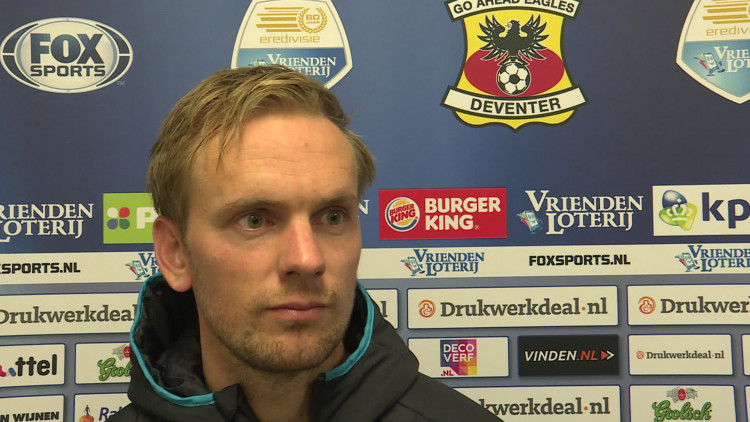 Siem de Jong over Go Ahead Eagles-PSV