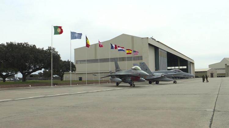 Eindhovense 336 squadron doet mee aan internationele oefening in Portugal.