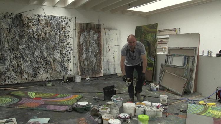 Kunstenaar Reinoud van Vught uit Goirle maakt 25 kunstwerken voor museum De Pont