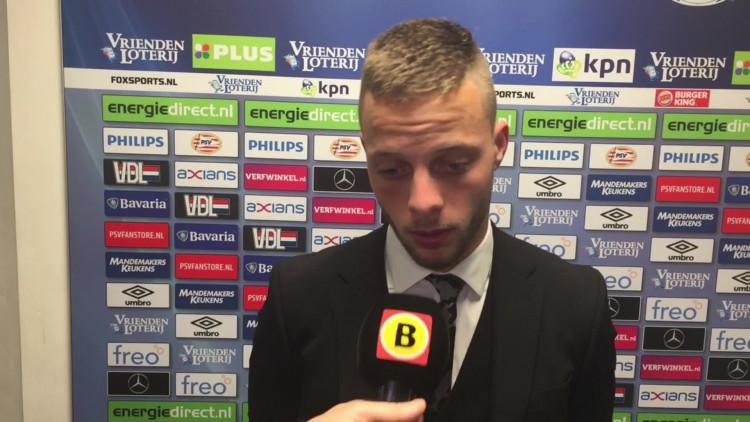 Bart Ramselaar na PSV-Willem II