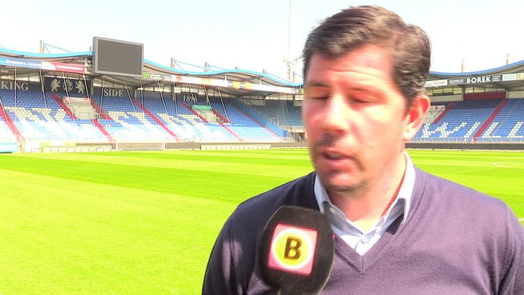 Willem II-trainer Erwin van de Looi hoopt op bonuspunten: 'Zes punten nodig voor play-offs'