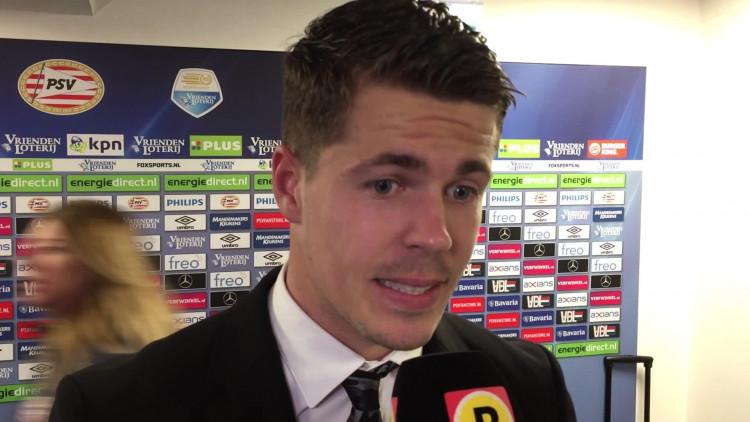 Marco van Ginkel na PSV-Ajax