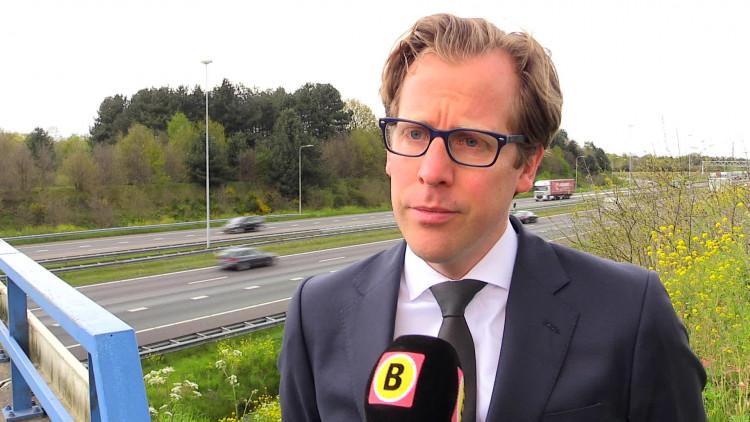 Bereikbaarheid Brabant onder druk', interview met gedeputeerde Christophe van der Maat