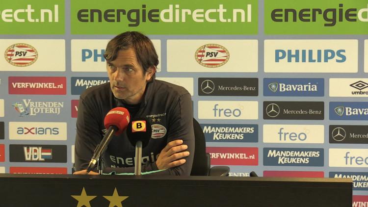 Phillip Cocu ook volgend seizoen trainer bij PSV