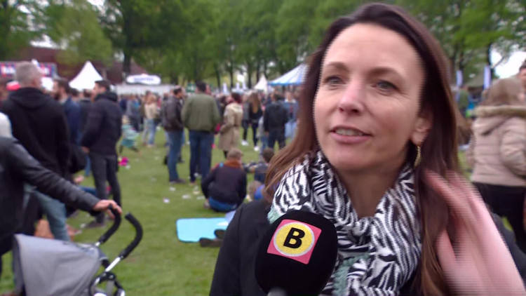 Verslaggever Birgit Verhoeven over het bevrijdingsfestival in Den Bosch