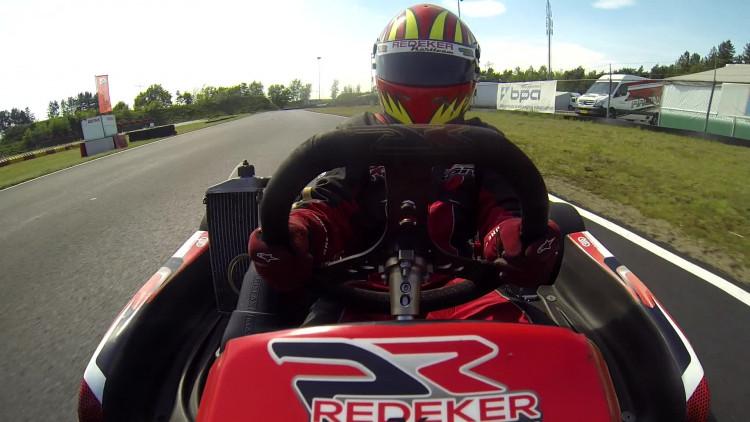 Senna uit Den Bosch wil NK Karten winnen voor zieke stiefvader