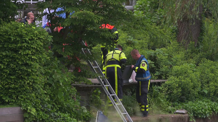 Voorbijganger vindt dode man in De Mark in Breda
