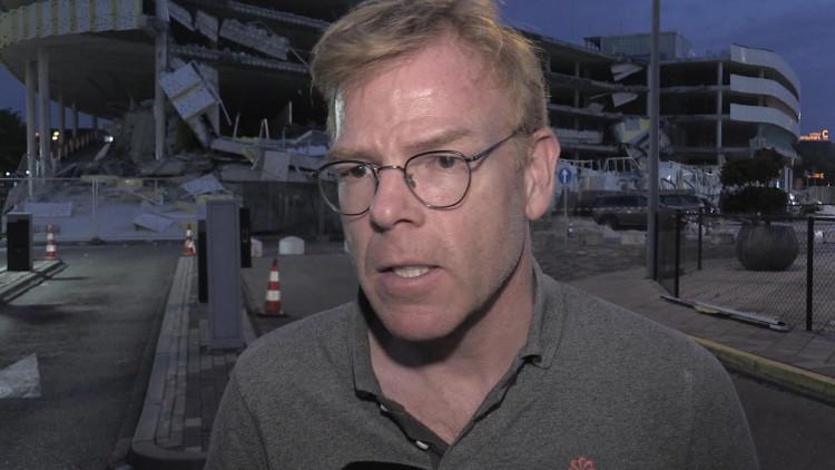 Directeur Joost Meijs van Eindhoven Airport vertelt wat er gebeurd is