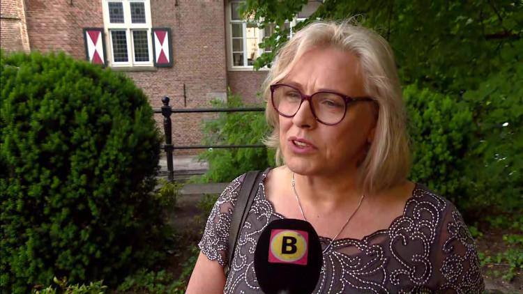 Familie en vrienden nemen afscheid van Sandra Reemer op Kasteel Maurick in Vught