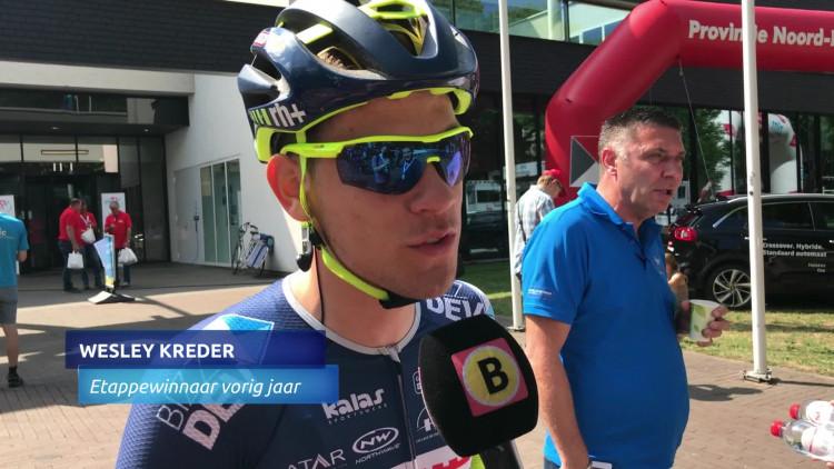 Wesley Kreder won vorig jaar verrassend de laatste etappe in Ster ZLM Toer