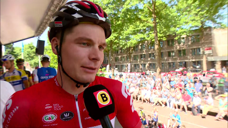 Moreno Hofland: 'We gaan in de slotetappe vol voor André Greipel'