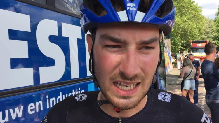 Twan van den Brand genoot ervan door Brabant te koersen.