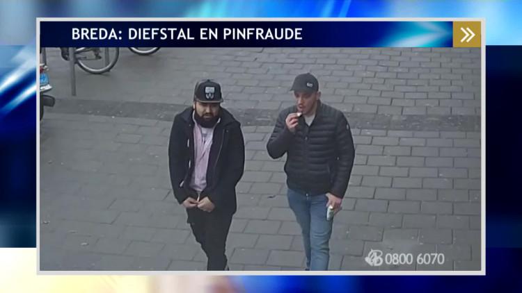 Wie zijn deze pinpasdieven in Breda?
