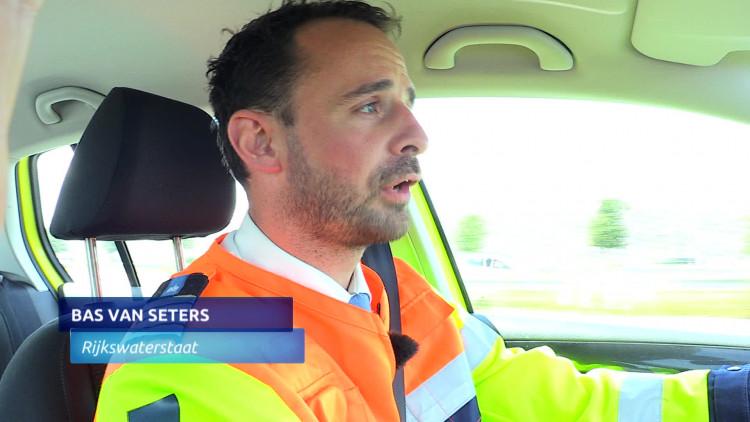28 bekeuringen uitgedeeld in kijkersfile bij ongeluk op A58