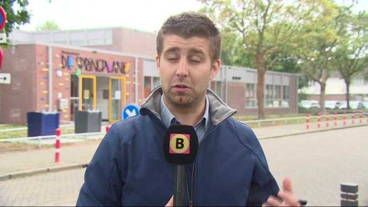 Op basischool De Springplank in Den Bosch worden de ouders woensdag bijgepraat over de situatie op school.