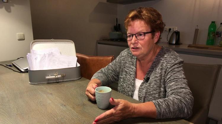 Truus Verhoeven zamelde 4200 handtekeningen tegen sluiting van Uitvaarthuis in Nuenen