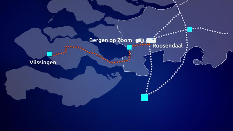 Nieuwe spoorlijn om Brabant te ontlasten
