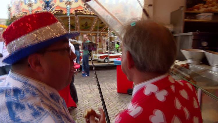 Recordpoging: Johan Vlemmix gaat in álle attracties op de Udense kermis