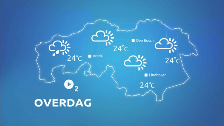 We kunnen ons opmaken voor tropische temperaturen op woensdag.