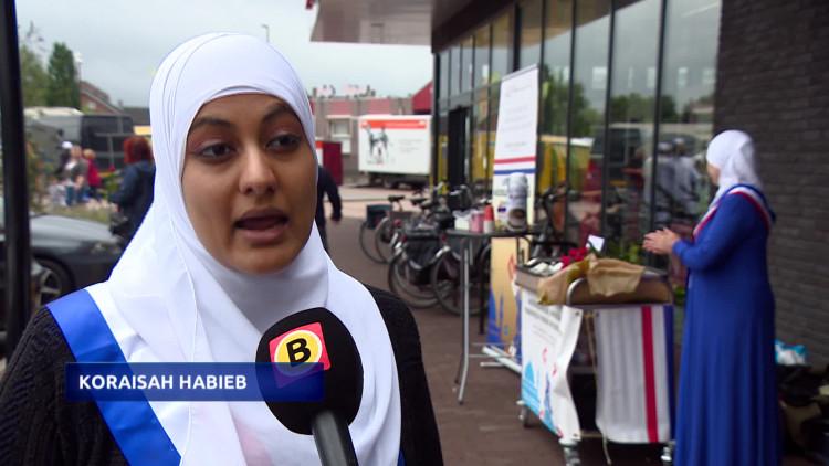 Moslims gaan in gesprek met de PVV stemmer in Sint Willebrord