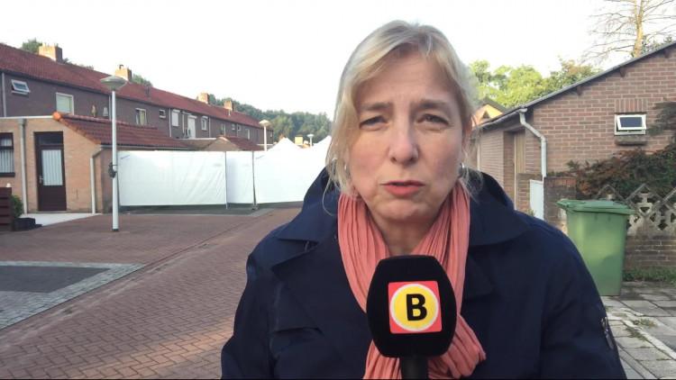 De plek waar Eindhovenaar Dennis Struijk donderdagavond werd geliquideerd is vrijdagochtend nog altijd afgeschermd.