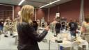Verslaggeefster Birgit sprak onder anderen met een van de ontwerpers