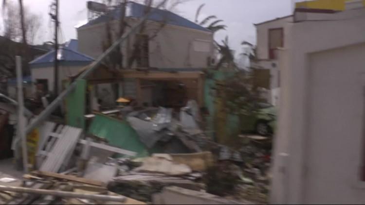 Slachtoffers orkaan Irma geland in Eindhoven