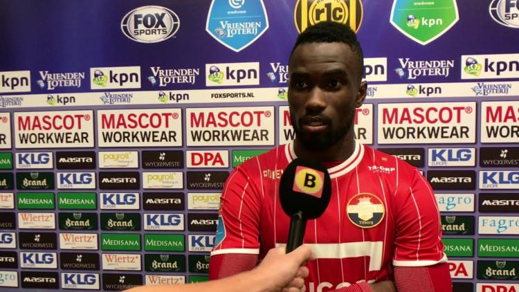 Rechtsback Fernando Lewis in de spits bij Willem II: 'Zo ben ik ook begonnen'