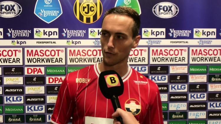 Blijdschap bij Freek Heerkens na zege tegen Roda JC: 'Opluchting? Zeker wel'
