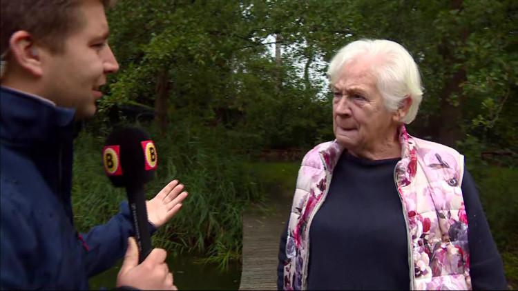 Dieny van den Heuvel is een van de vrijwilligers die een bijdrage leverde aan de overwinning 'groenste van Europa'