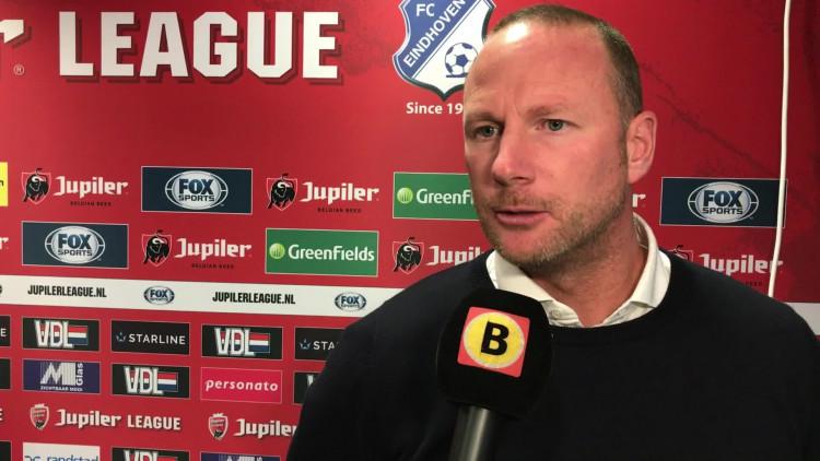 FC Eindhoven-trainer Wilfred van Leeuwen vond dat zijn ploeg domineerde