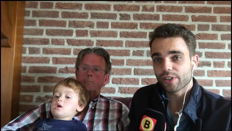 Hennie ontving een boete van 140 euro voor het wildplassen van zijn kleinkind.