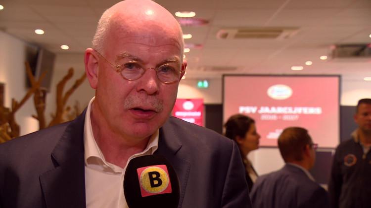 'Het belangrijkste is dat we weer zwarte cijfers hebben', directeur Toon Gerbrands over jaarcijfers PSV
